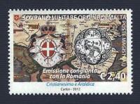 Cristianesimo e araldica: congiunta con la Romania